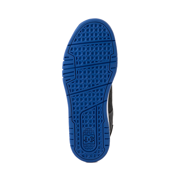 alternate view Mens DC Stag Skate Shoe - Black / BlueALT3