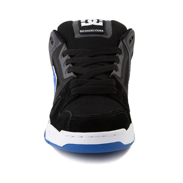 alternate view Mens DC Stag Skate Shoe - Black / BlueALT4