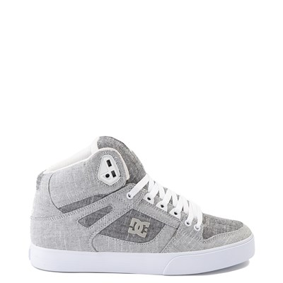 Main view of Mens DC Pure Hi WC TX SE Skate Shoe - Gray