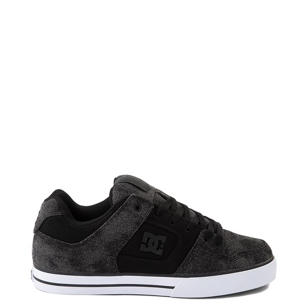Mens DC Pure TX SE Skate Shoe - Black / Black Denim
