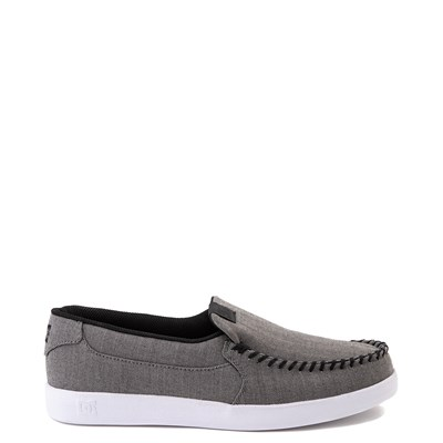 Main view of Mens DC Villain TX SE Skate Shoe - Heather Gray