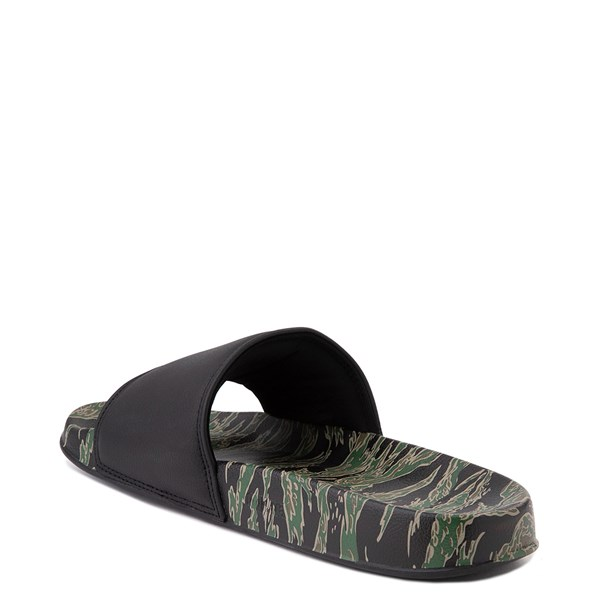 alternate view Mens DC Slider SE Slide Sandal - Green / BlackALT2