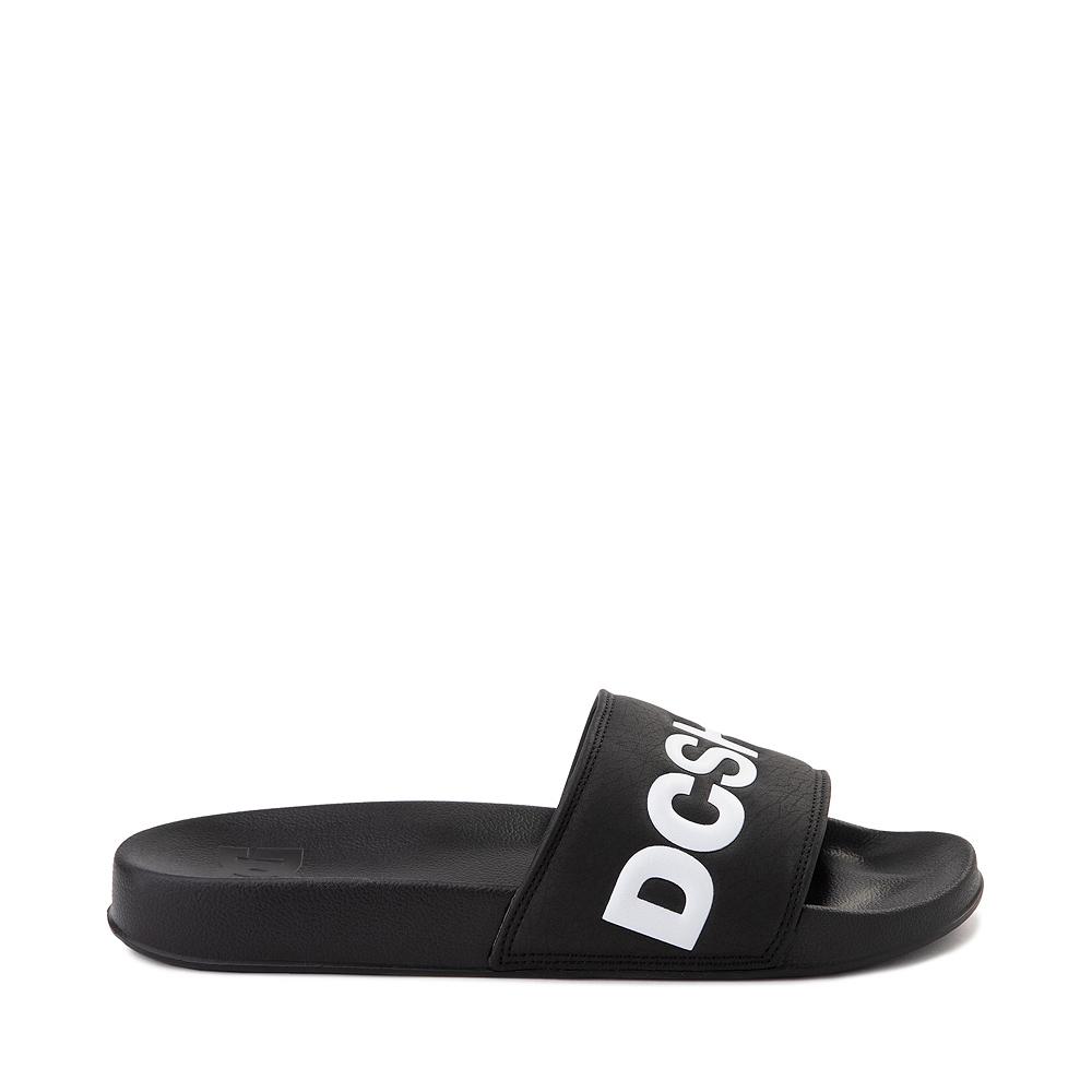 Mens DC Slider Slide Sandal - Black
