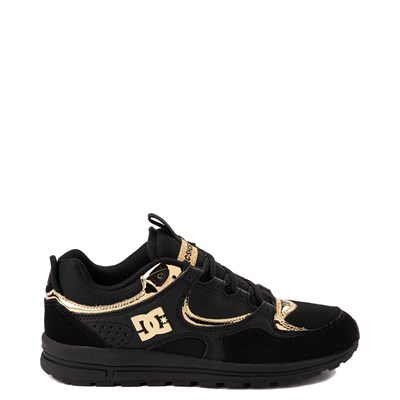 Main view of Womens DC Kalis Lite Skate Shoe - Black / Gold