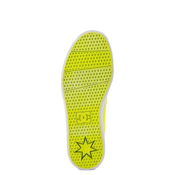 alternate view Womens DC Trase TX Platform Skate Shoe - Bright YellowALT5