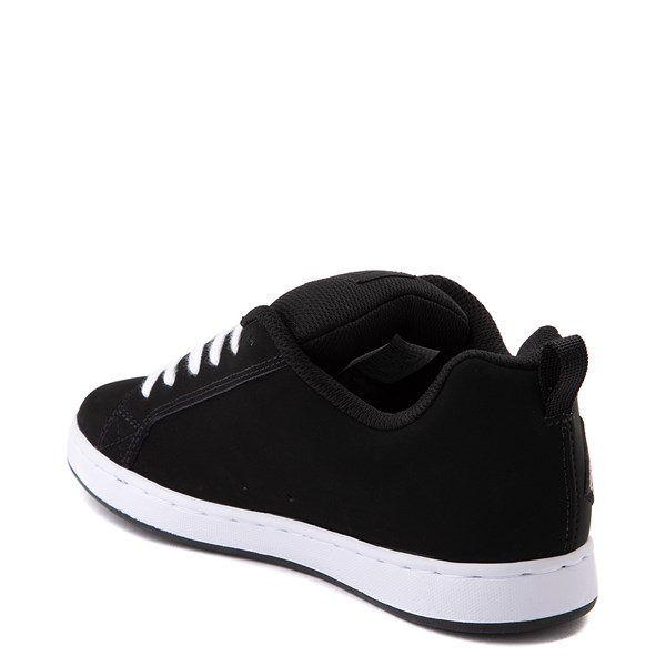 alternate view Womens DC Court Graffik SE Skate Shoe - Black / CamoALT2