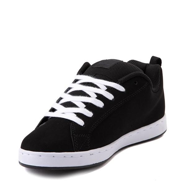 alternate view Womens DC Court Graffik SE Skate Shoe - Black / CamoALT3