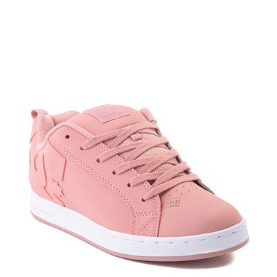 Alternate view of Womens DC Court Graffik Skate Shoe - Rose