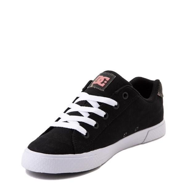alternate view Womens DC Chelsea TX SE Skate Shoe - Black / CamoALT3