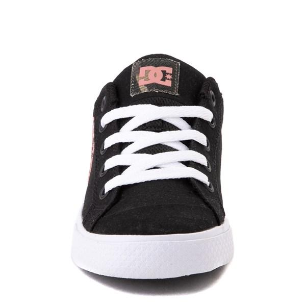 alternate view Womens DC Chelsea TX SE Skate Shoe - Black / CamoALT4