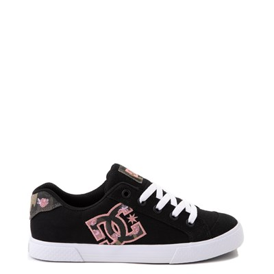 Main view of Womens DC Chelsea TX SE Skate Shoe - Black / Camo