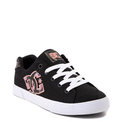 Alternate view of Womens DC Chelsea TX SE Skate Shoe - Black / Camo