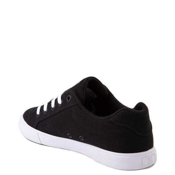 alternate view Womens DC Chelsea TX Skate Shoe - Black / GoldALT1