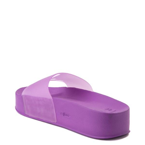 alternate view Womens DC Slider Platform Slide Sandal - PurpleALT2