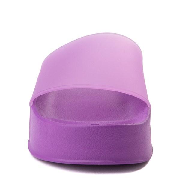 alternate view Womens DC Slider Platform Slide Sandal - PurpleALT4