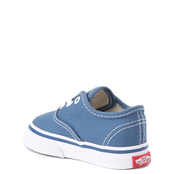 alternate view Vans Authentic Skate Shoe - Baby / Toddler - NavyALT1