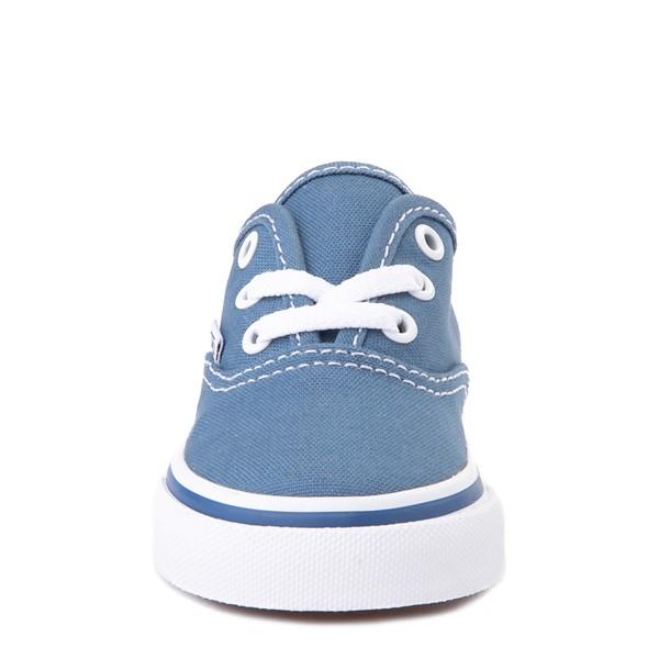 alternate view Vans Authentic Skate Shoe - Baby / Toddler - NavyALT4