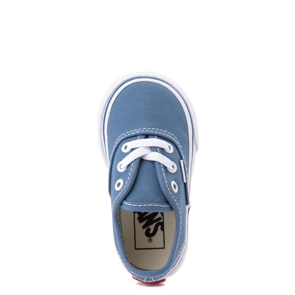 alternate view Vans Authentic Skate Shoe - Baby / Toddler - NavyALT4B