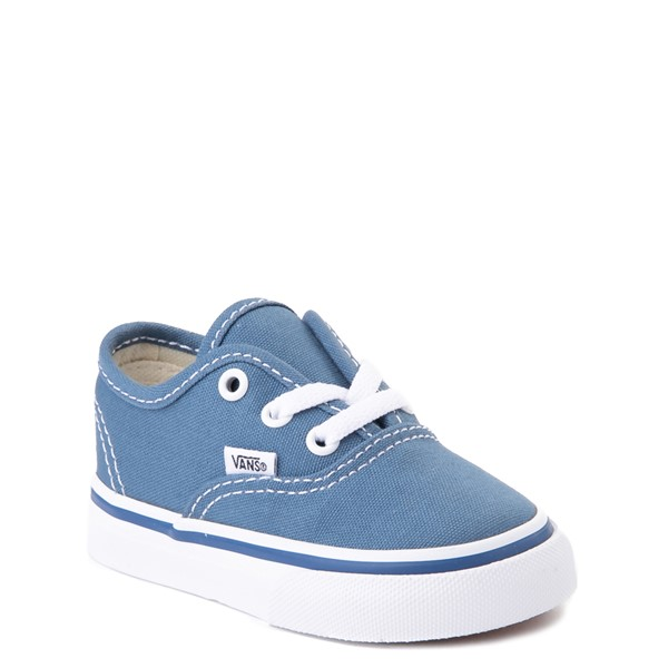 alternate view Vans Authentic Skate Shoe - Baby / Toddler - NavyALT5