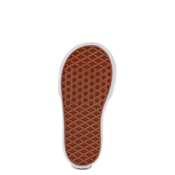 alternate view Vans Slip On V Checkerboard Skate Shoe - Baby / Toddler - India InkALT5