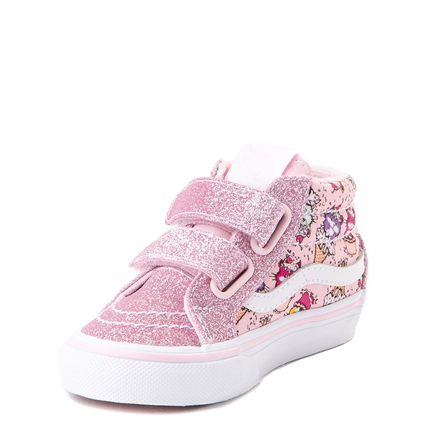 alternate view Vans Sk8 Mid Reissue V Kitty Cake Skate Shoe - Baby / Toddler - BlushALT3