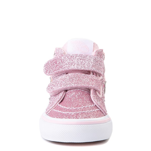 alternate view Vans Sk8 Mid Reissue V Kitty Cake Skate Shoe - Baby / Toddler - BlushALT4