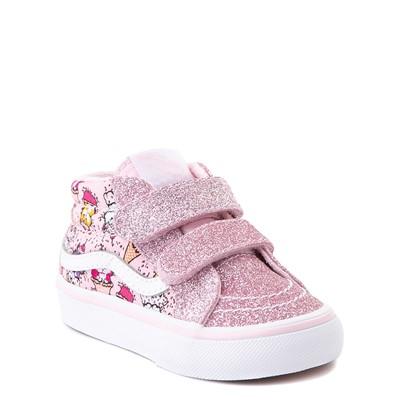 Alternate view of Vans Sk8 Mid Reissue V Kitty Cake Skate Shoe - Baby / Toddler - Blush