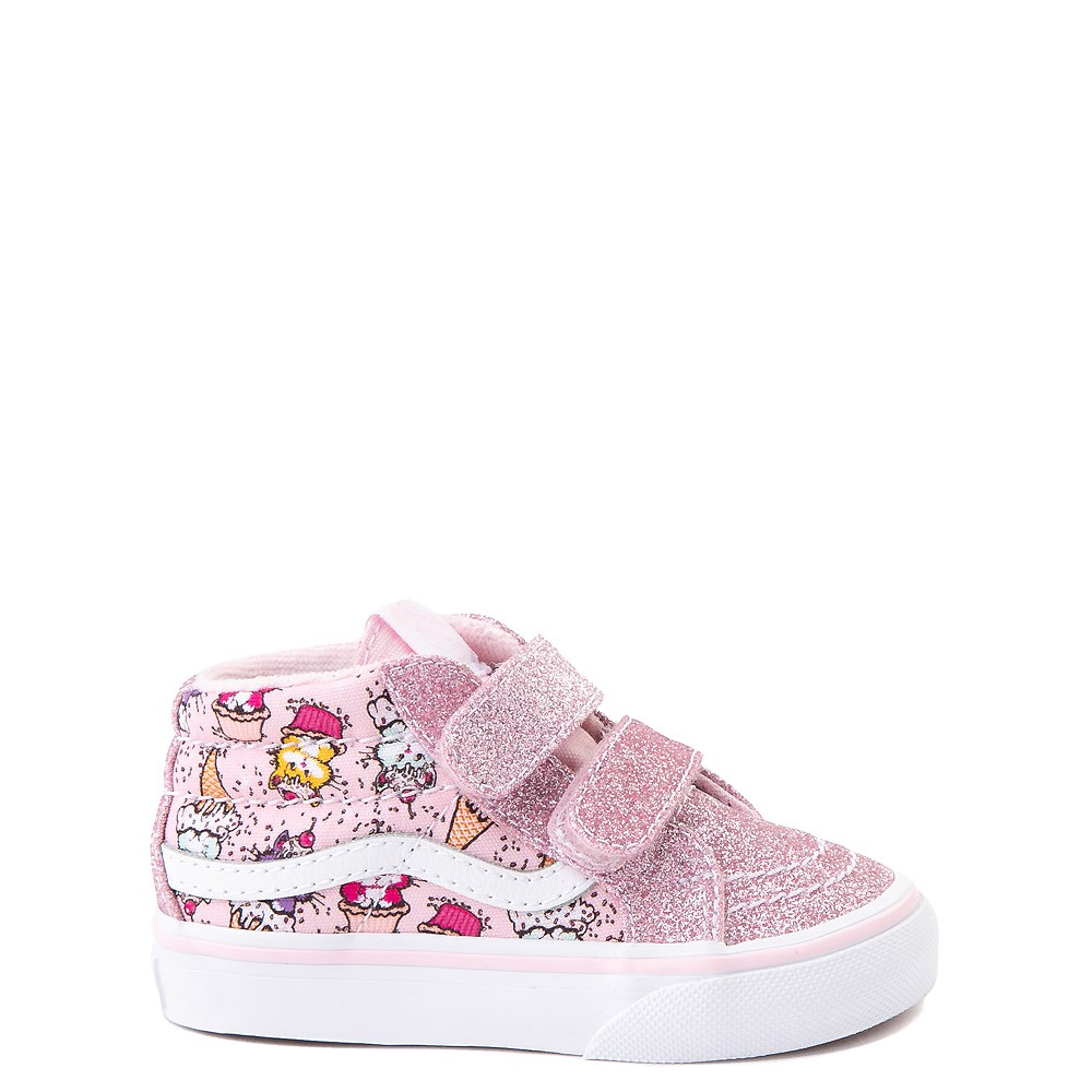 Vans Sk8 Mid Reissue V Kitty Cake Skate Shoe - Baby / Toddler - Blush