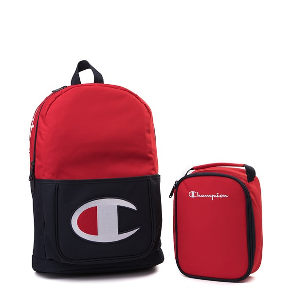 Main view of Champion Supercize Backpack - Red / Navy