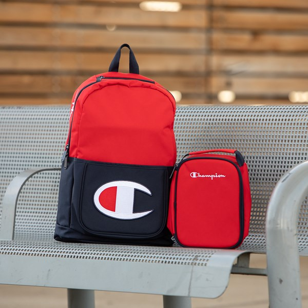 alternate view Champion SuperCize Backpack - Red / NavyALT1BB