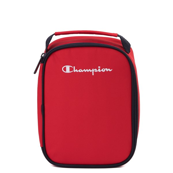 alternate view Champion SuperCize Backpack - Red / NavyALT3