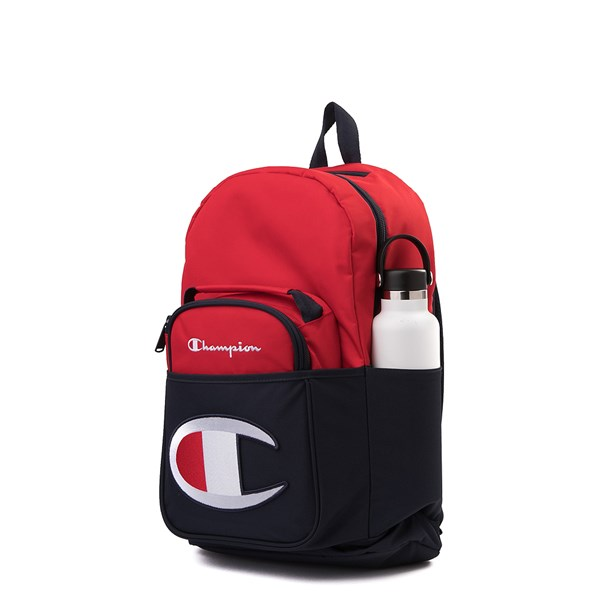 alternate view Champion SuperCize Backpack - Red / NavyALT4