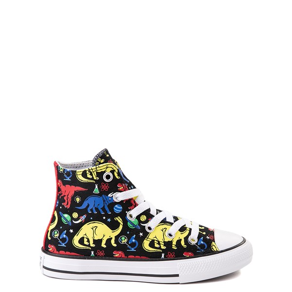 Main view of Converse Chuck Taylor All Star Hi Dinos Sneaker - Little Kid / Big Kid - Black