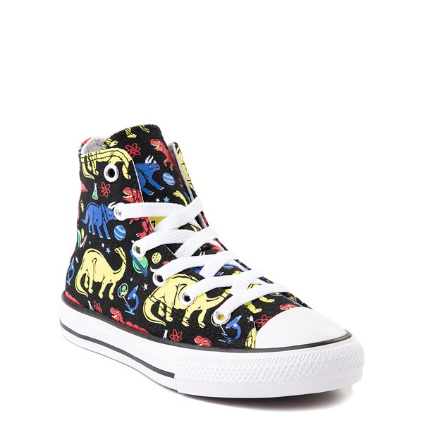 alternate view Converse Chuck Taylor All Star Hi Dinos Sneaker - Little Kid / Big Kid - BlackALT1B