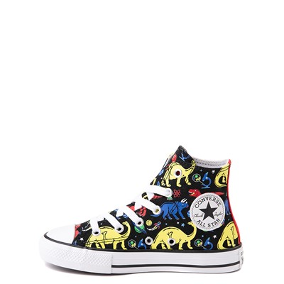 Alternate view of Converse Chuck Taylor All Star Hi Dinos Sneaker - Little Kid / Big Kid - Black