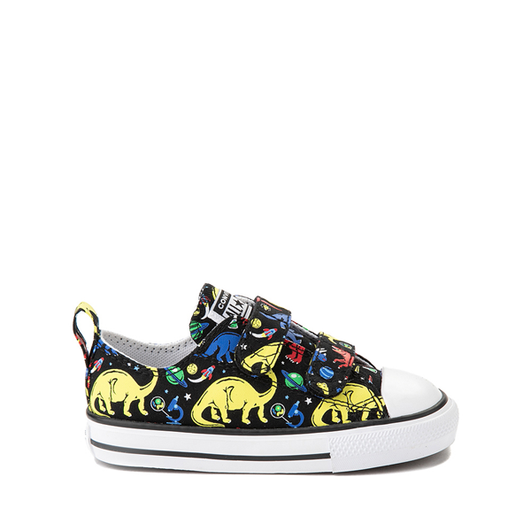 Converse Chuck Taylor All Star 2V Dinos Lo Sneaker - Baby / Toddler - Black