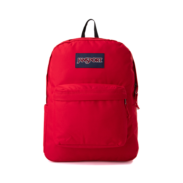 Main view of JanSport Superbreak Plus Backpack - Red Tape