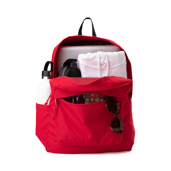 alternate view JanSport Superbreak Plus Backpack - Red TapeALT1