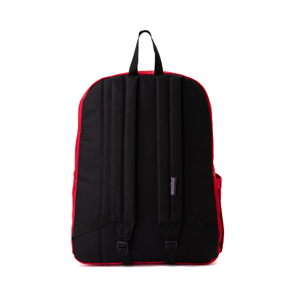 alternate view JanSport Superbreak Plus Backpack - Red TapeALT2