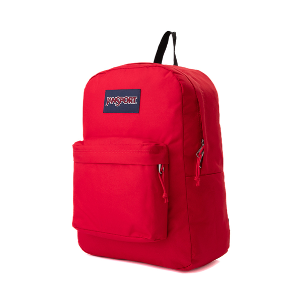 alternate view JanSport Superbreak Plus Backpack - Red TapeALT4