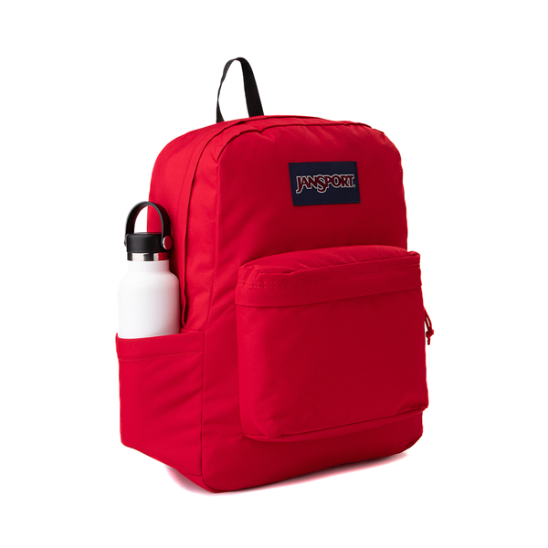 alternate view JanSport Superbreak Plus Backpack - Red TapeALT4B
