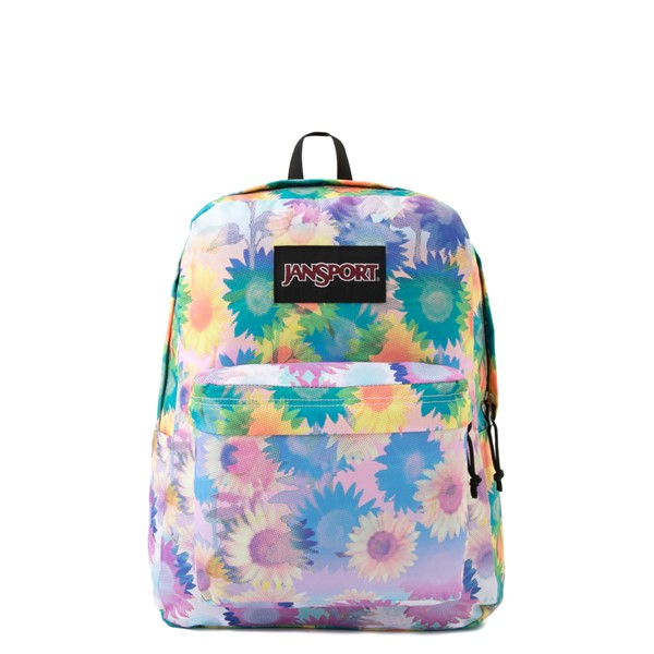 JanSport Superbreak Plus Backpack - Sunflower Field