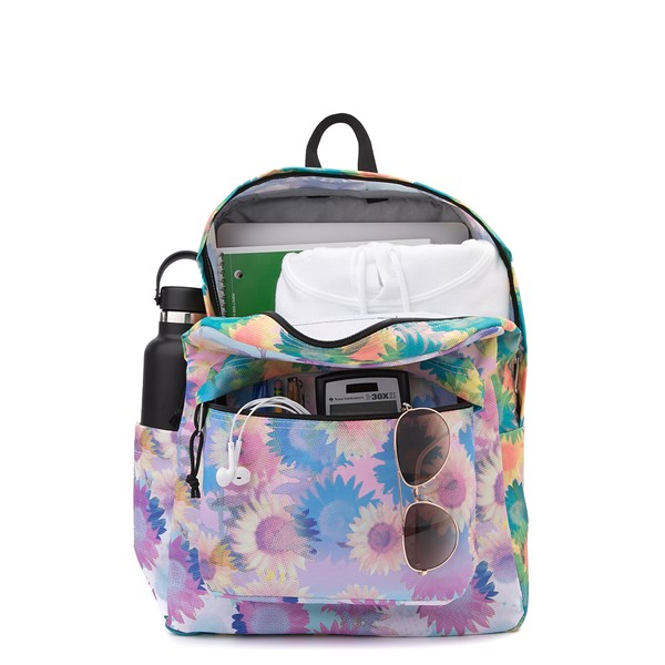 alternate view JanSport Superbreak Plus Backpack - Sunflower FieldALT1