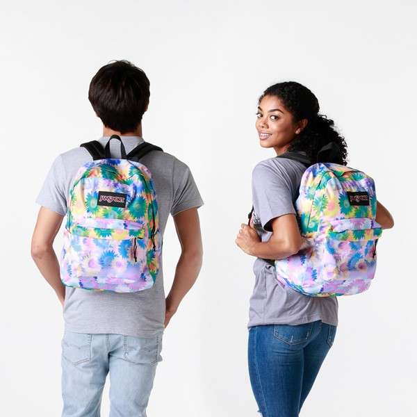 alternate view JanSport Superbreak Plus Backpack - Sunflower FieldALT1BADULT