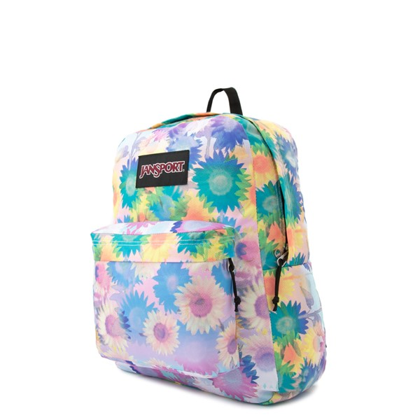 alternate view JanSport Superbreak Plus Backpack - Sunflower FieldALT4