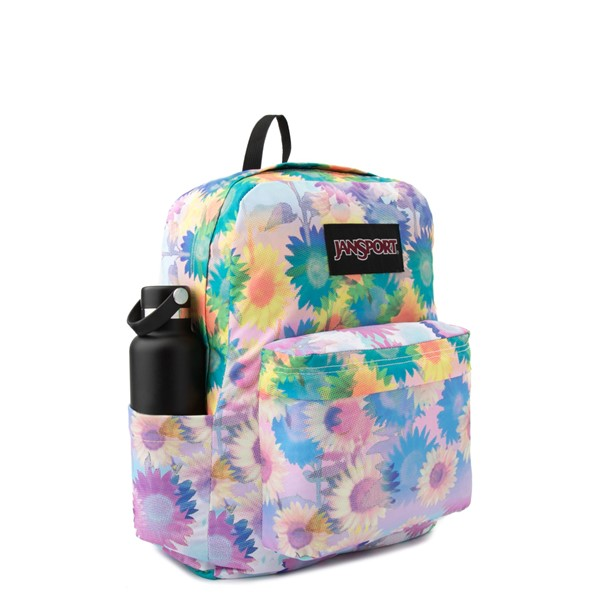 alternate view JanSport Superbreak Plus Backpack - Sunflower FieldALT4B