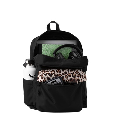 Alternate view of JanSport Superbreak Plus Backpack - Black / Leopard
