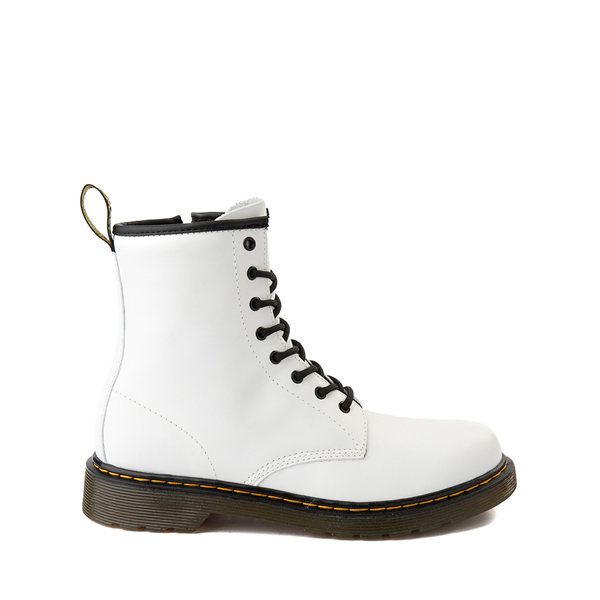 Main view of Dr. Martens 1460 8-Eye Boot - Big Kid - White