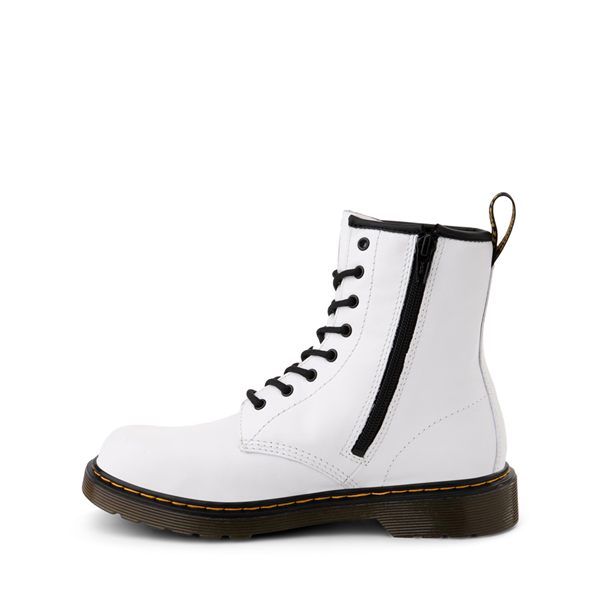 alternate view Dr. Martens 1460 8-Eye Boot - Big Kid - WhiteALT1