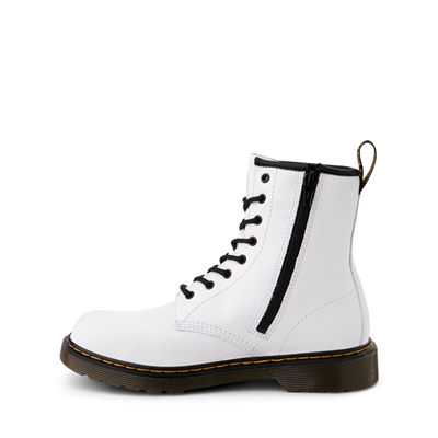 Alternate view of Dr. Martens 1460 8-Eye Boot - Big Kid - White